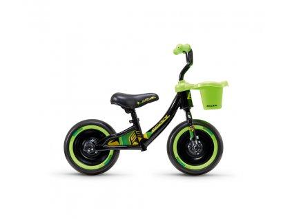 Dětské odrážedlo S'COOL pedeX 3v1 - černo/zelená