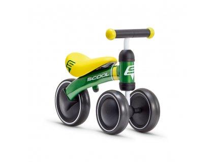 Dětské odrážedlo S'COOL pedeX pro nejmenší - zeleno/žlutá