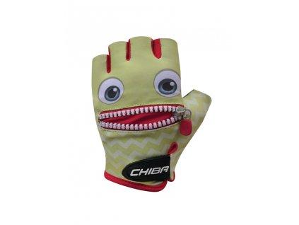 Cyklistické rukavice pro děti Chiba Cool Kids - tvář