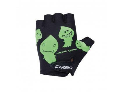 Cyklistické rukavice pro děti Chiba Cool Kids - duchové