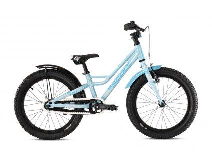 """Dětské kolo S'COOL faXe 18"""" - světle modrá (od 110 cm)"""