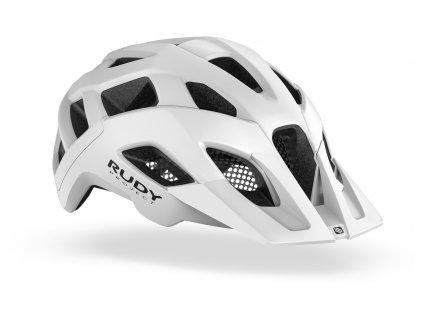Cyklistická helma CROSSWAY - White (Matte)