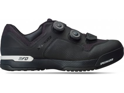 2FO CLIPLITE MOUNTAIN BIKE SHOES Black (Velikost 39)