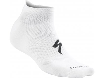 Cyklistické ponožky Specialized Invisible Socks - white (Velikost S)