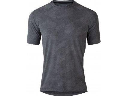 Specialized Atlas Short Sleeve Jersey Black (Velikost S)