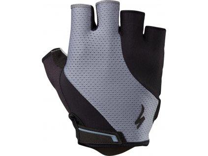 Specialized Body Geometry Dual-Gel Gloves - Dust Blue