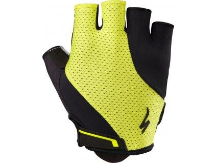 Specialized Body Geometry Dual-Gel Gloves - Limon
