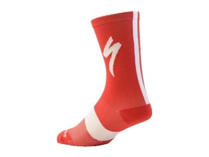Specialized SL Tall Socks Red (Velikost S/M)