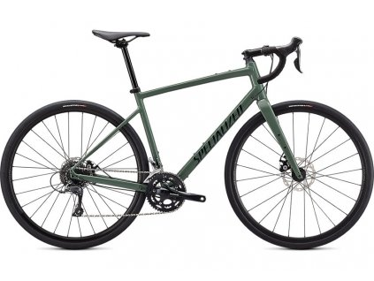Specialized Diverge Base E5 - Gloss Sage Green/Forest Green/Chrome/Clean