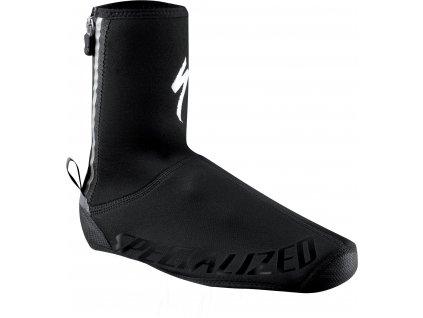 Specialized Deflect Shoe Cover Neoprene - Black/Black (Velikost Small)