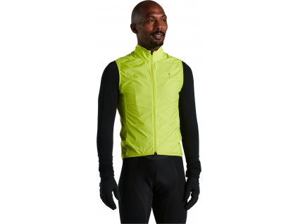 Specialized Men's Hyprviz Race-Series Wind Gilet - HyperViz (Velikost XS)