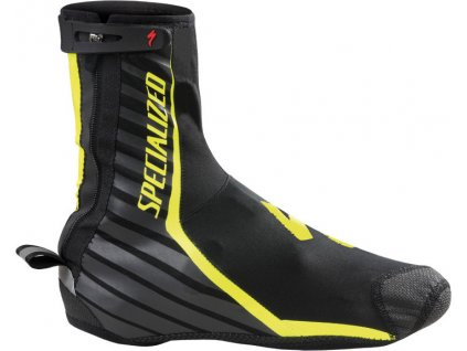 Specialized Deflect Pro shoe cover - BLK/YEL FLUO