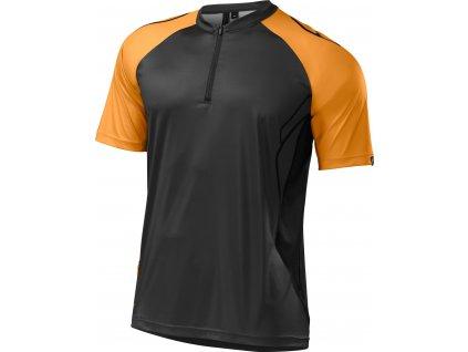 Specialized Atlas XC Pro Jersey - Carbon/Gallardo Orange