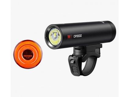 Ravemen Set světel přední CR1000 + zadní CL05