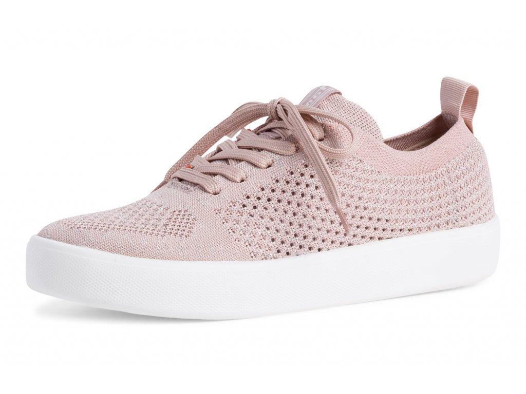 Tamaris Růžové tenisky na platformě