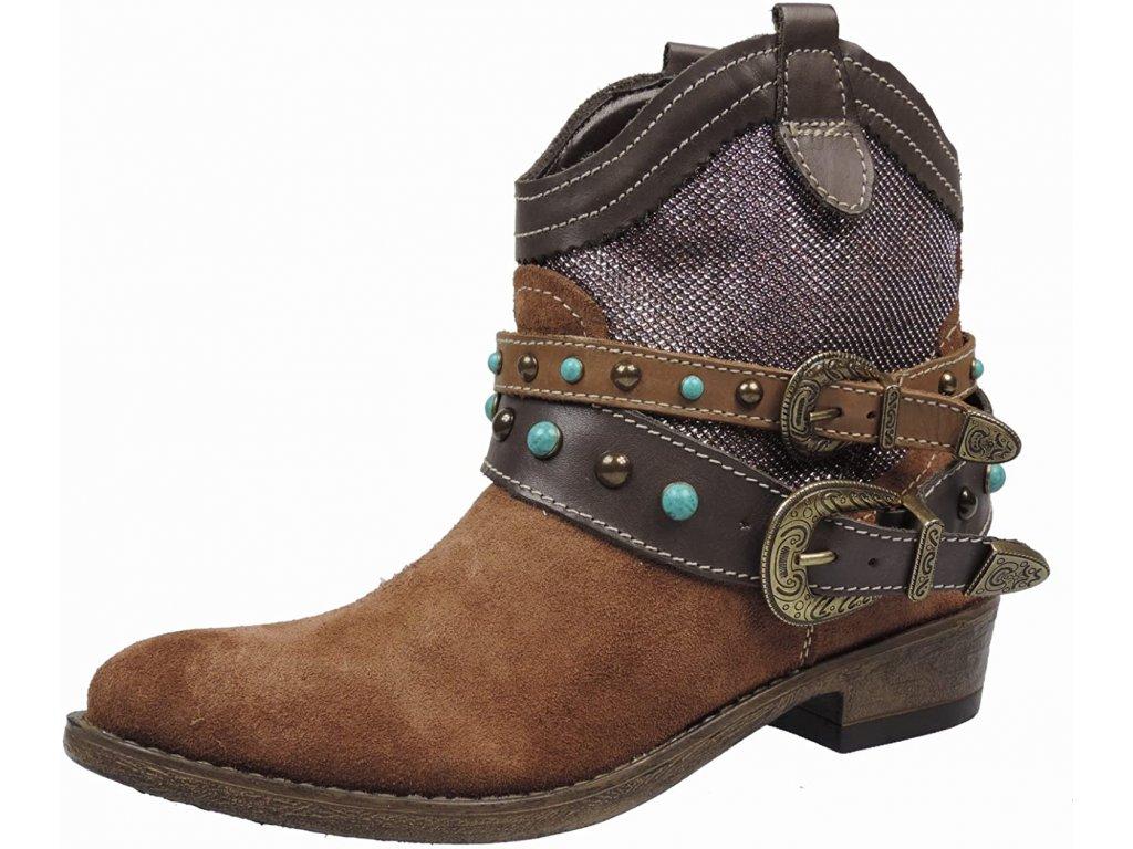 Tamaris Celoroční kotníkové boty s podpatkem 3,5 cm
