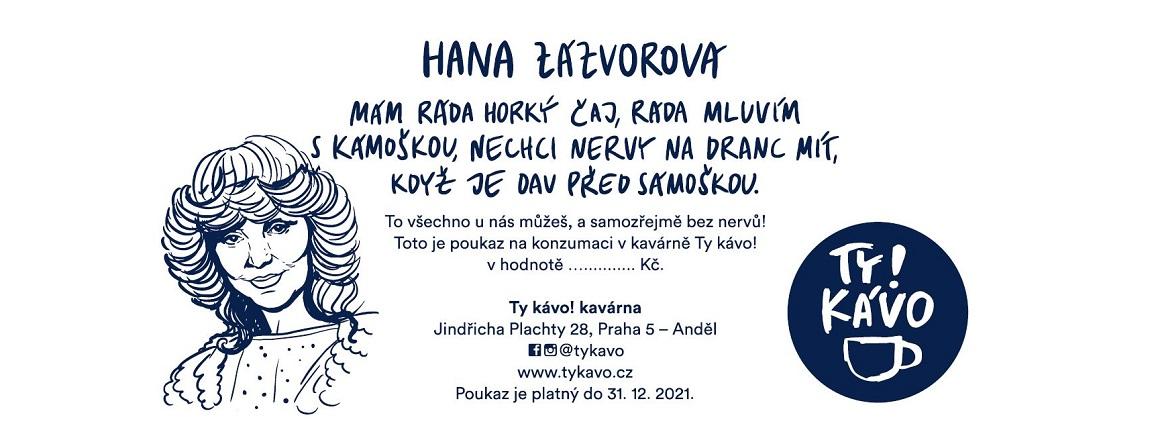 Poukaz Hanka Zázvorová