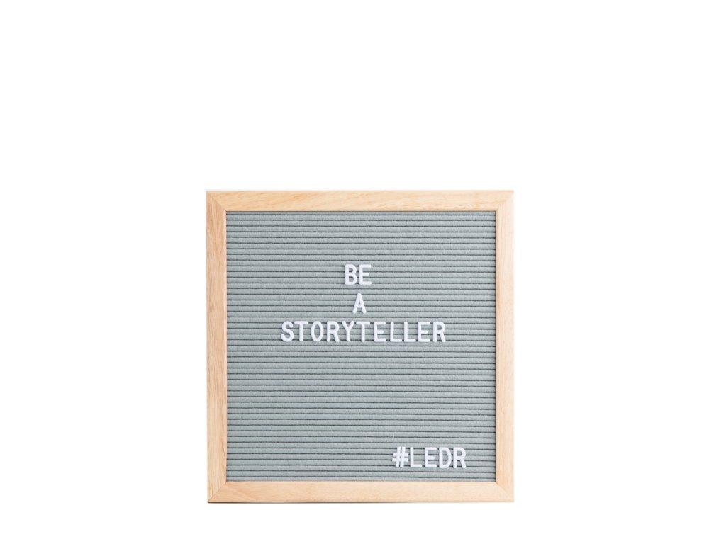 1500 px Classicletterboard 30x30 grey