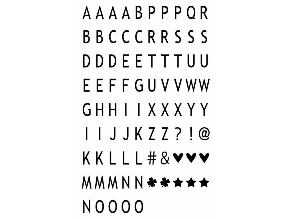 ledr ledr 85 letters symbolen a6