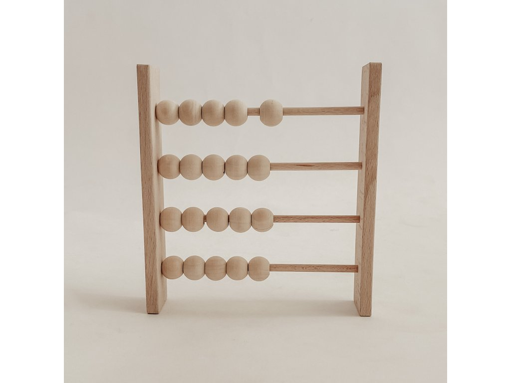 Dřevěné počítadlo