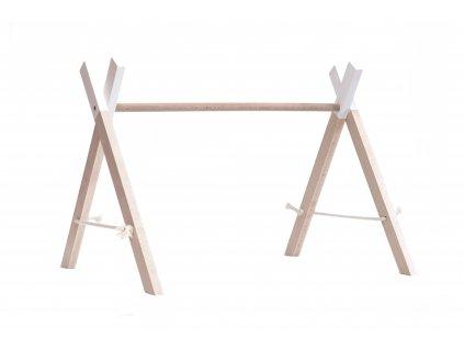 Dřevěná hrazdička