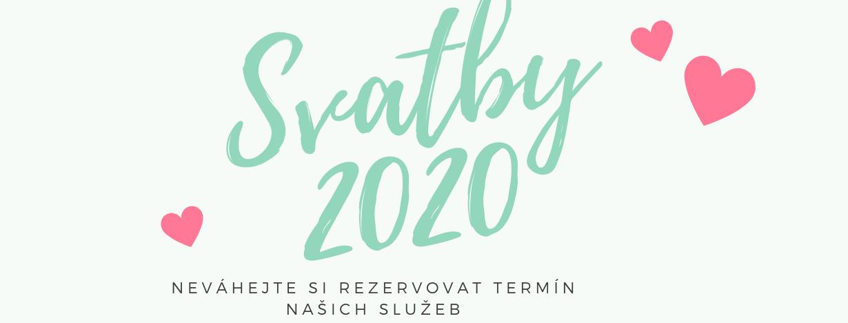 Svatby 2020
