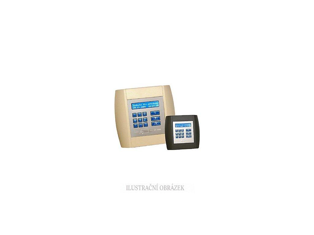 Docházkový terminál DT3000SA iClass B s vestavěnou čtečkou karet iClass/Mifare