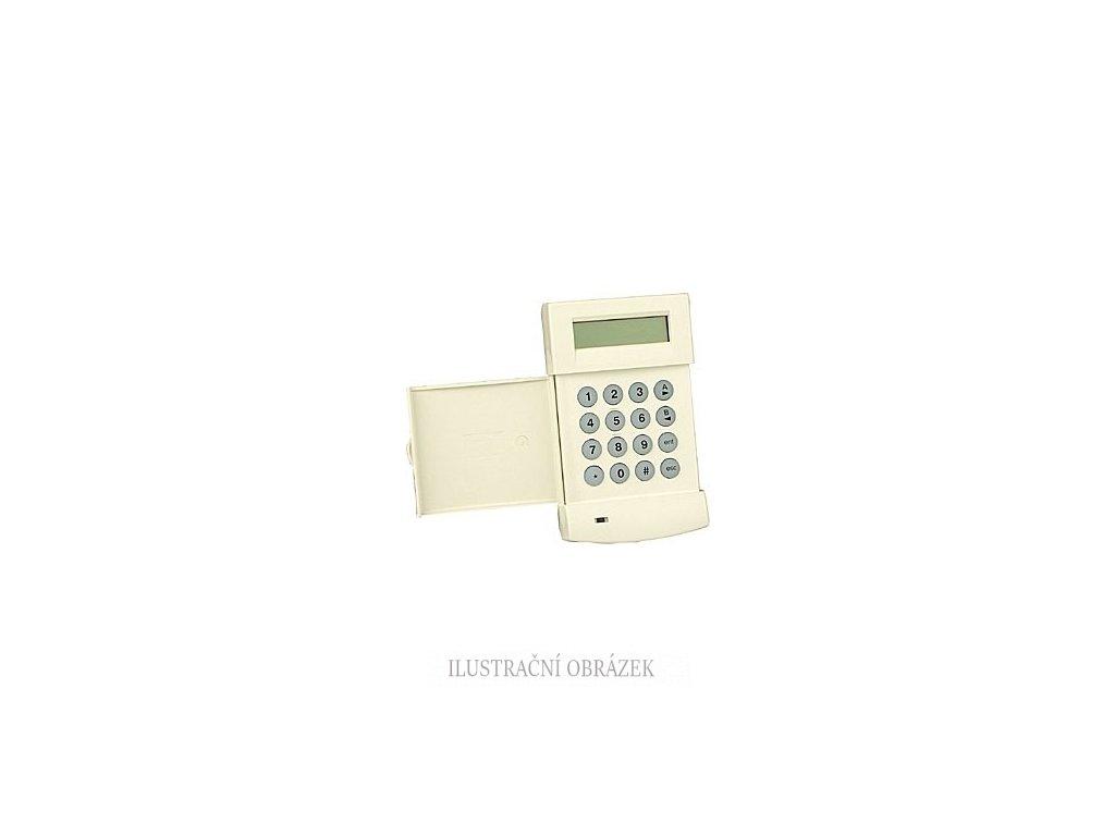 LCD klávesnice s vestavěnou čtečkou HID karet a přívěšků