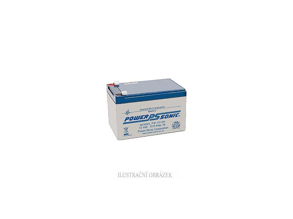 Akumulátor Power Sonic 12 V / 12 Ah s konektory Faston 187
