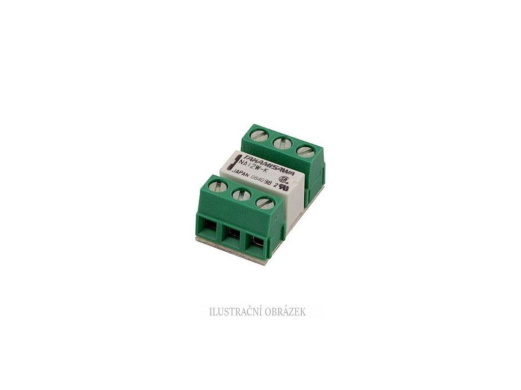 Miniaturní univerzální reléový modul ERM1 s přepínacím kontaktem