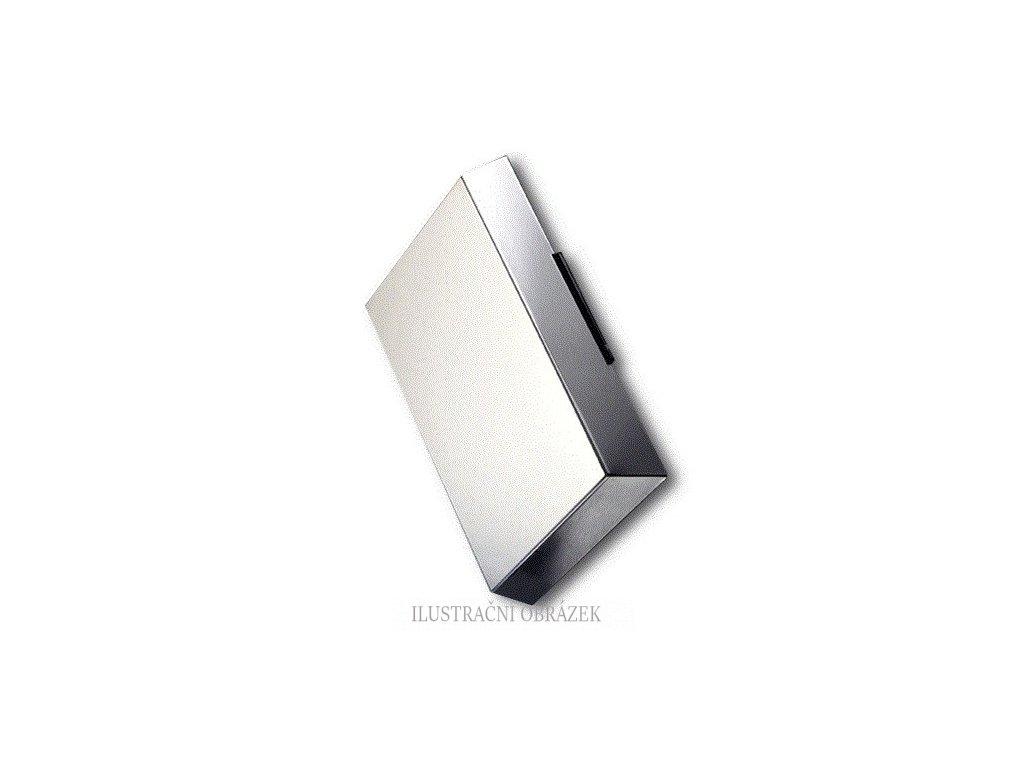 Zálohovaná leštěná kovová venkovní siréna