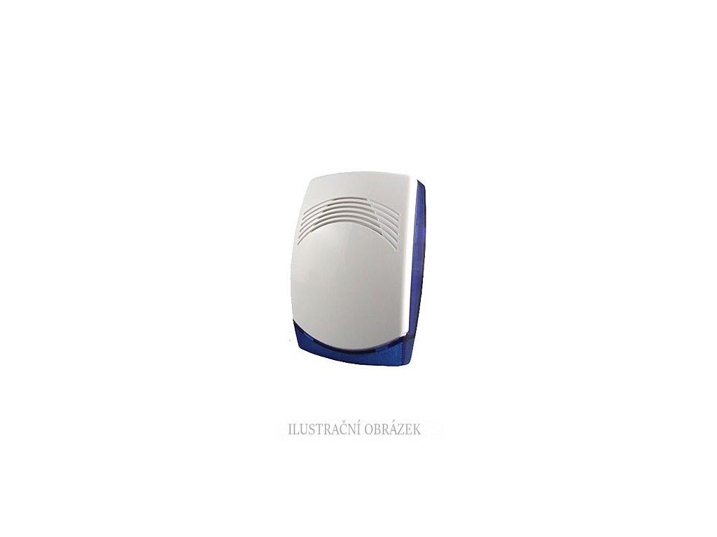 Nezálohovaná plastová vnitřní siréna 112 dB/m