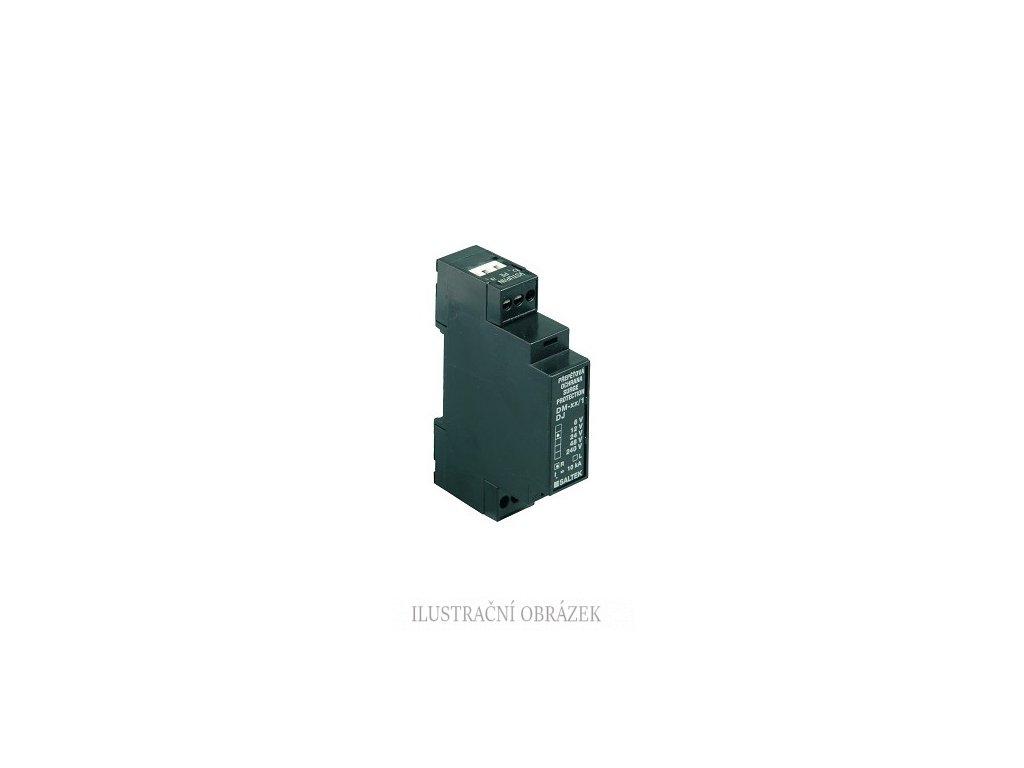 Dvoustupňová přepěťová ochrana 6 V / max. 60 mA, montáž na DIN lištu