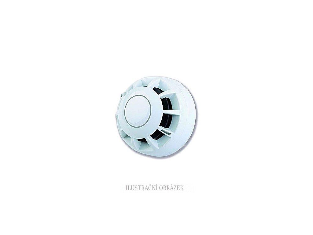 Konvenční kouřový hlásič bez patice.