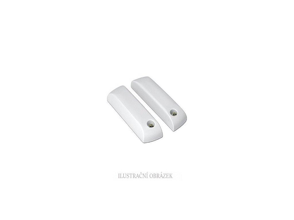 MG kontakt QST-GN se svorkovnicí a EOL rezistory 1k / 1k a pracovní mezerou 20 mm