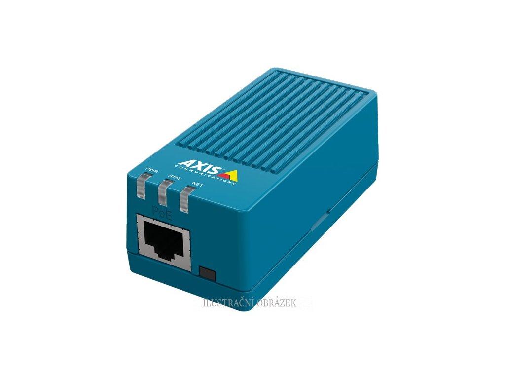 IP video enkodér Axis M7011 s 1 vstupem, D1, RS-485 a napájením přes PoE