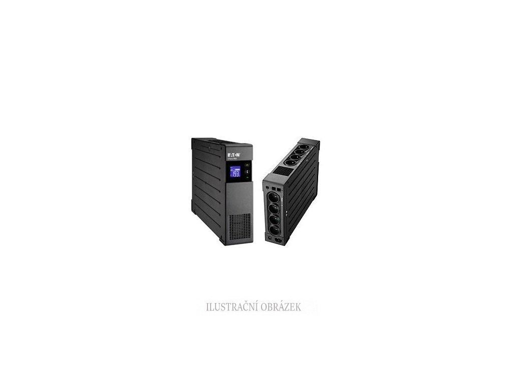 Interaktivní UPS Eaton řady Ellipse PRO 1 / 1 fáze, 1 k 6 V A / 1 kW s 8-mi FR zásuvkami