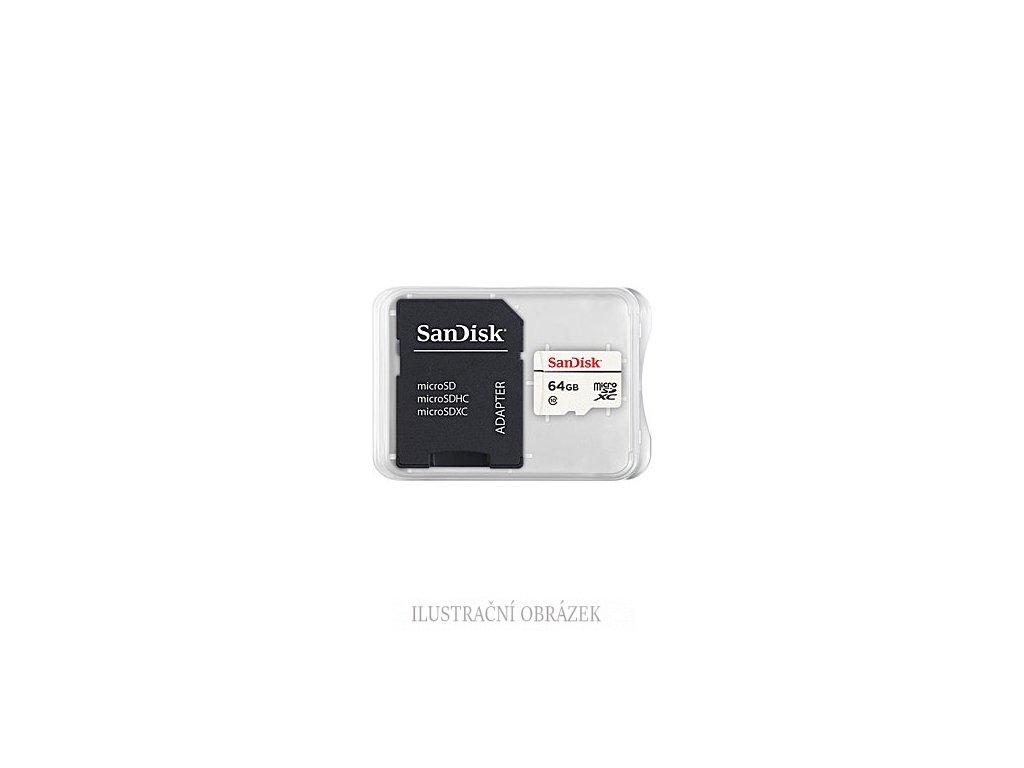 64 GB Micro SDXC karta pro IP kamery ve zvýhodněném balení 10 ks