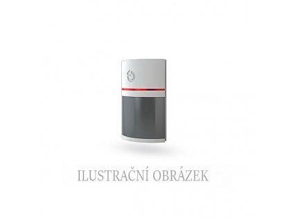 Sběrnicový PIR detektor pohybu s dosahem 12 m / 90° s šedou čočkou