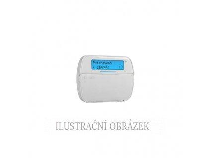Bezdrátová LCD klávesnice se čtečkou pro PowerNeo s 1 klávesnicovou zónou / PGM výstupem