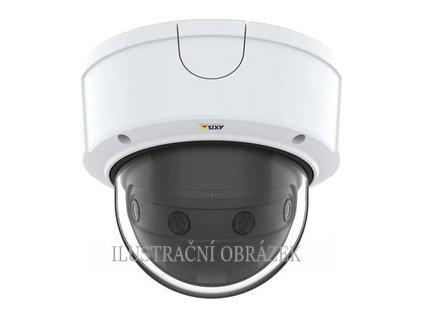 4 x 2 MP IP panoramatická dome kamera Axis P3807-PVE s objektivy 3,2 mm, WDR a krytím IP66