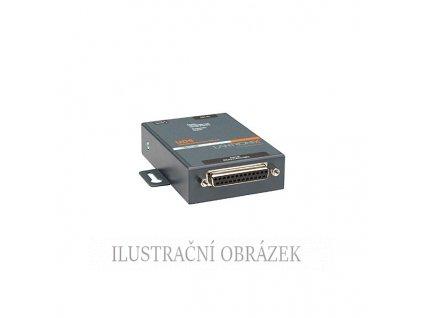 1-portový převod. RS - 232 / 422 / 485 na Ethernet 10 / 100 Base-TX