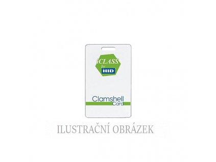 Clamshellová bezkontaktní karta iClass SE + iClass (klasik) - 2 k