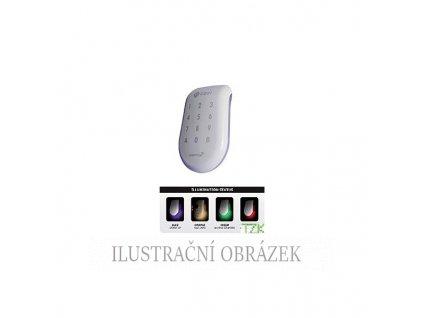 Čtečka karet EM a HID se světelnou signalizací stavu a dotykovou klávesnicí