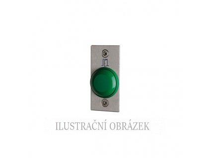 Odchodové tlačítko se štítkem pro vysoké zatížení