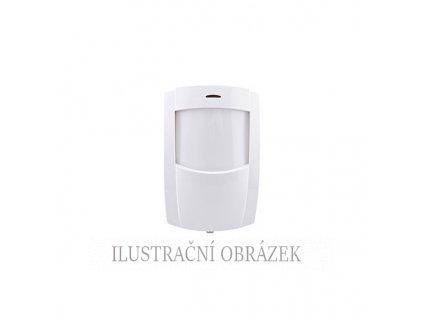 PIR detektor Premier Compact IR s EOL rezistory, teplotní kompenzací a vějířem 12 m