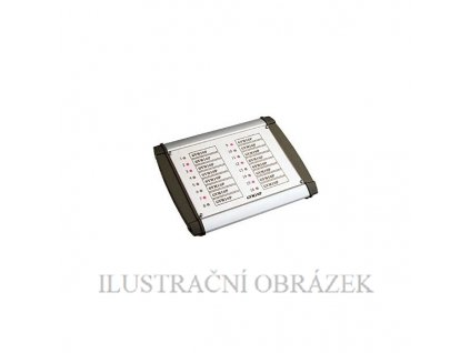 Signalizační tablo v krytu pro 16 LED diod