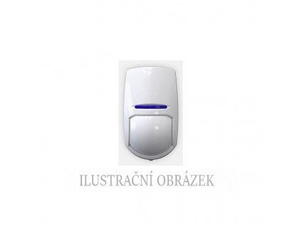 Digitální PIR detektor s držákem, dosahem vějíře do 10 m, EOL rezistory a funkcí PET do 24 kg