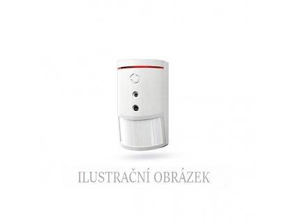 Sběrnicový PIR detektor pohybu s vestavěnou barevnou kamerou