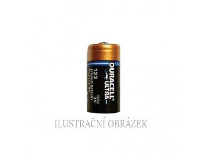 Lithiová 3 V baterie typu CR123A (CR17345) s kapacitou 1400 mAh